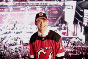 Michael Vukojević has signed his first NHL contract with New Jersey Devils.