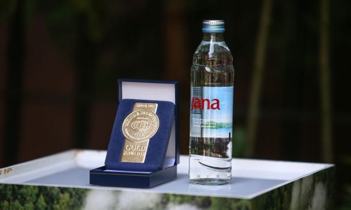 Jana natural mineral water from Croatia wins prestigious international gold medal