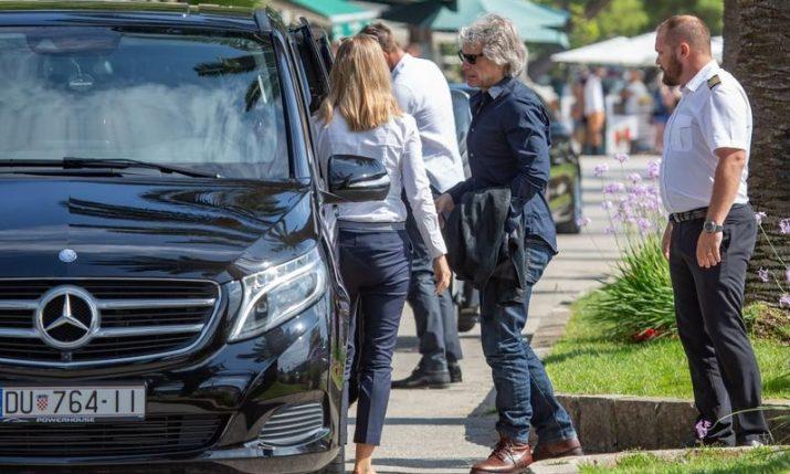 PHOTOS: Jon Bon Jovi arrives in Croatia on holiday