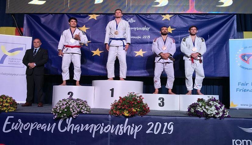 Croatia's Luka Škorić wins bronze at European Ju-Jitsu Championships