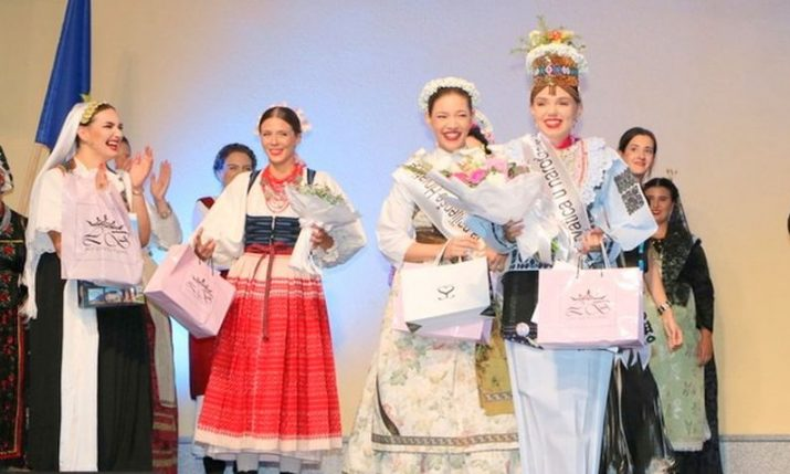 PHOTOS: Most beautiful Croatian in national costume outside Croatia crowned