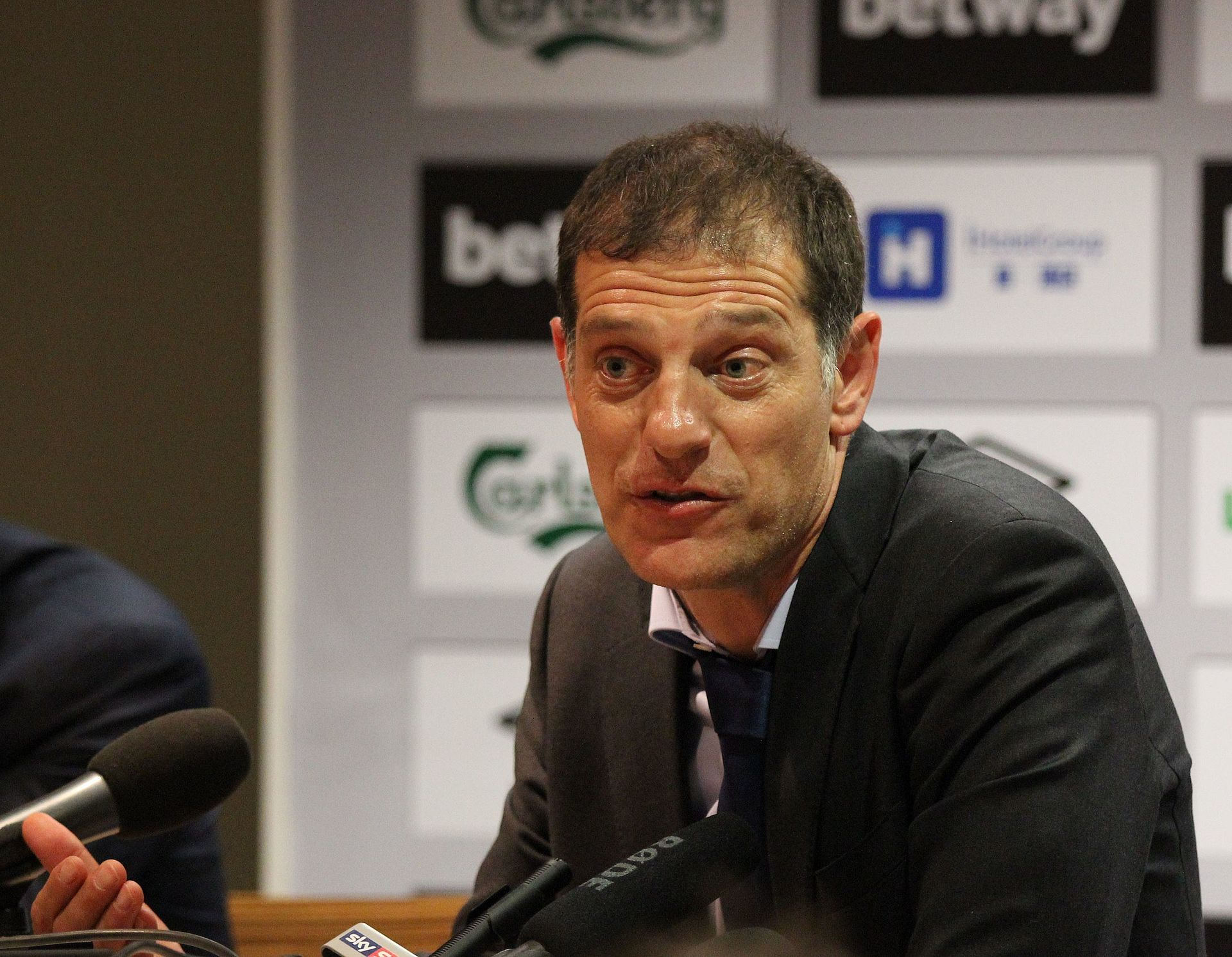 Slaven Bilic becomes the first Premier League manager to be fired West Brom