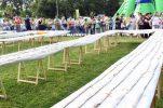 Record for world's longest apple strudel set in Croatian city of Sisak