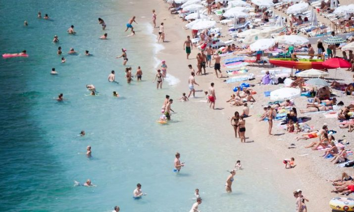 European heatwave: Dubrovnik & Zadar hit record temperatures
