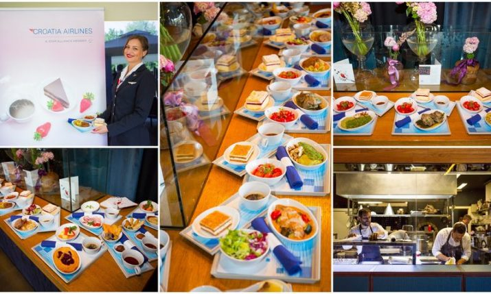PHOTOS: Croatia Airlines presents new Business Class menus inspired by traditional Zagreb cuisine