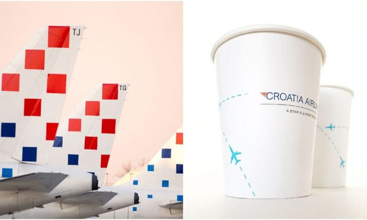 Croatia Airlines swap plastic cups for paper cups on all flights