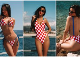 New CROkini swimsuits a big hit around the world