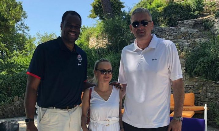NBA legend David Robinson impressed with Zadar