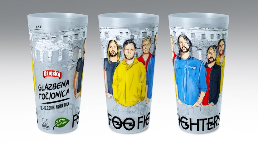 Foo Fighters concerts the first in Croatia without single-use plastics