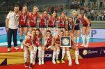 Croatian women's volleyball team win European Golden League silver medal