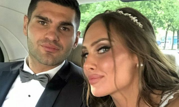 Boxer Filip Hrgović ties the knot in Sesvete