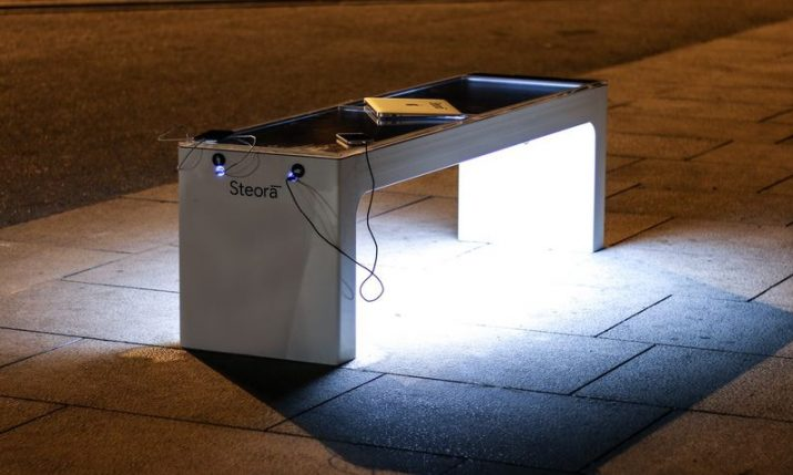 Croatian smart bench gets installed at NATO training facility