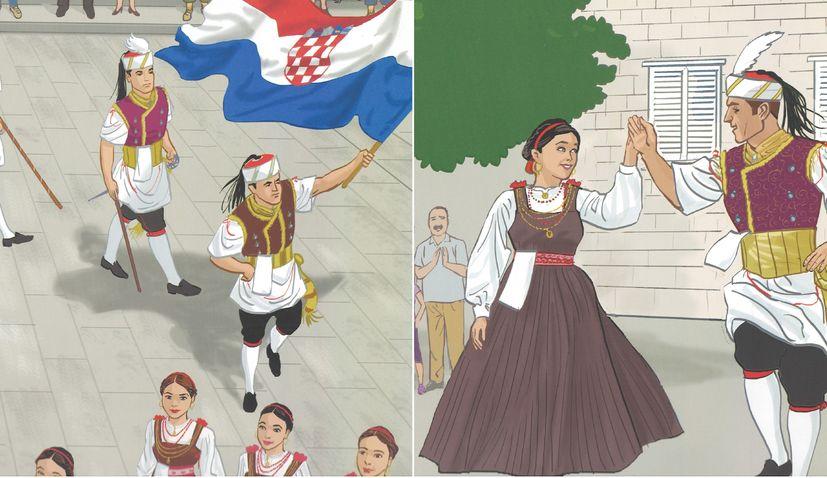 Story book about Kumpanjija on Korčula released in English