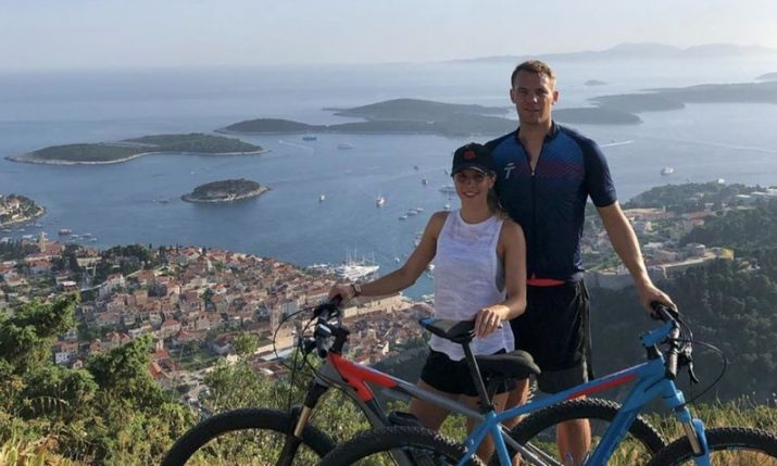 Germany No.1 Manuel Neuer enjoying Croatian holiday