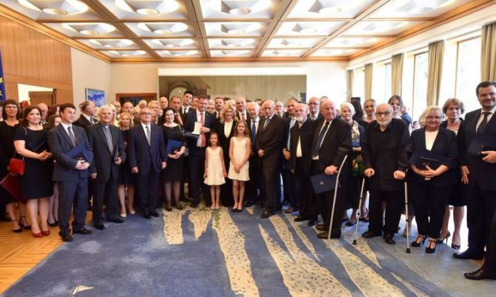 Statehood Day awards & decorations of the Republic of Croatia presented