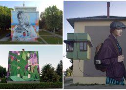 PHOTOS: World's top street artists create murals in Vukovar