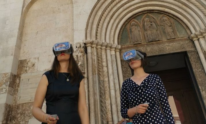 Virtual reality tour of Zadar's history launched