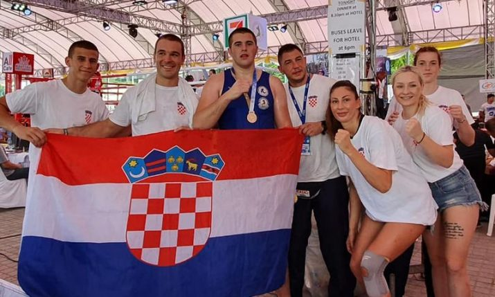 Croatia's Petar Drežnjak becomes world Muay Thai champion in Bangkok