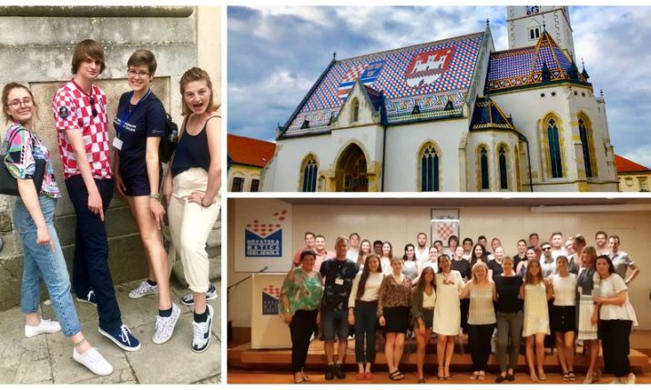 PHOTOS: Domovina Birthright Program visits Zagreb