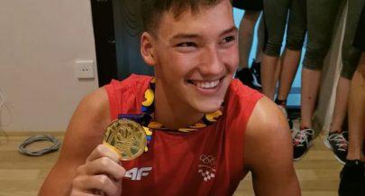 WATCH: Croatian swimmer Franko Grgic becomes world champion