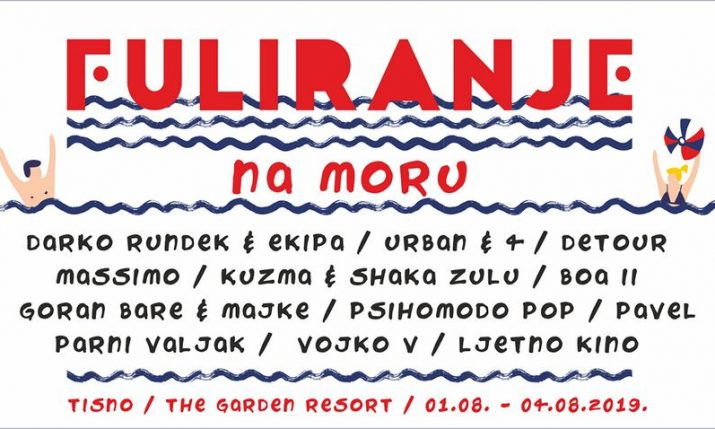 First Croatian experience festival 'Fuliranje na moru' introducing 12 leading Croatian bands
