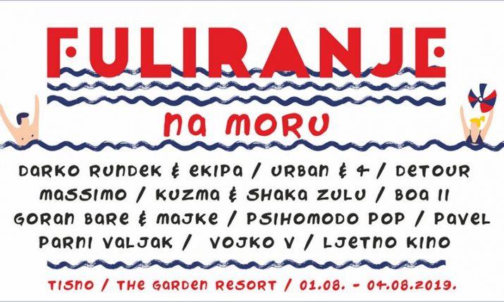 First Croatian experience festival 'Fuliranje na moru' introducing 12 leading Croatian bands