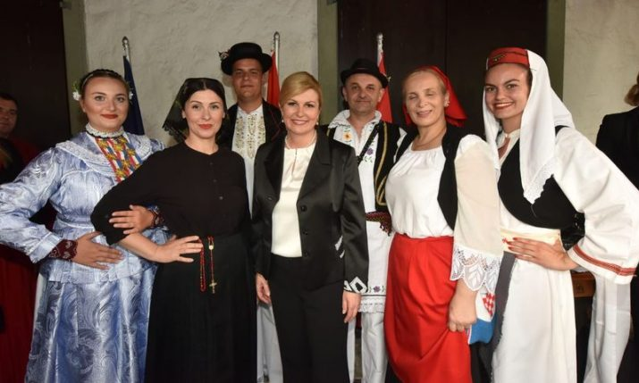 President meets with Croatian community in Switzerland
