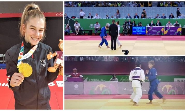 European Youth Olympics: Ana Viktorija Puljiz wins gold for Croatia in Judo