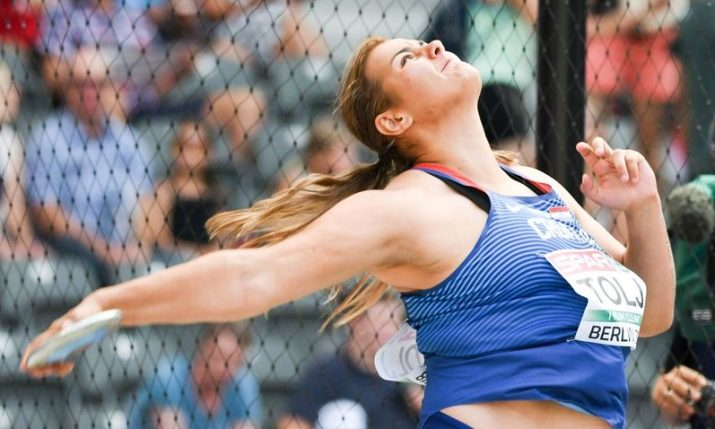 Croatia's Marija Tolj breaks record to win discus gold at European U23 champs