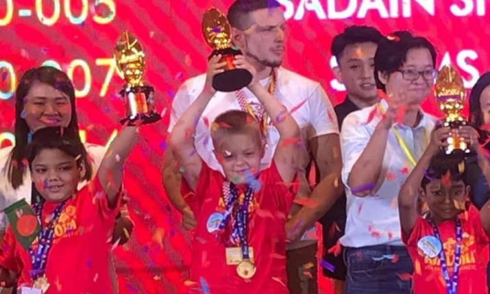 8-year-old Patrik from Croatia becomes world mental arithmetic champion