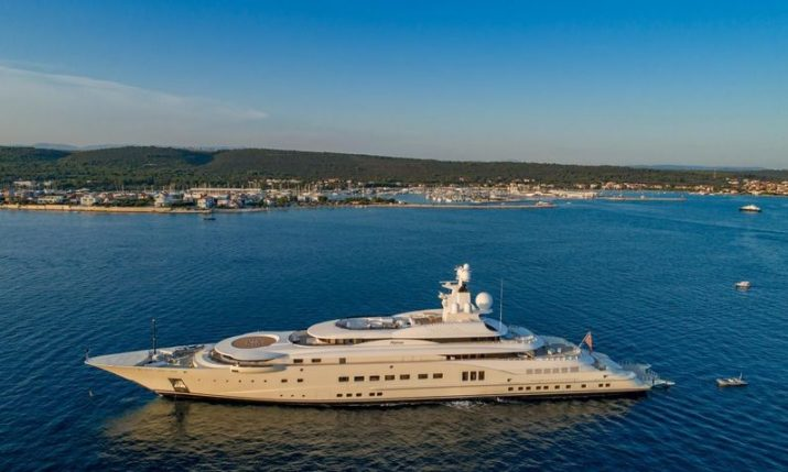 PHOTO: One of the world's biggest superyachts turning heads in Croatia