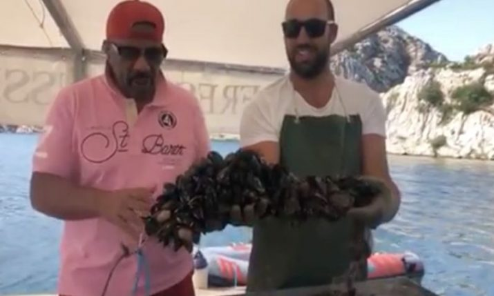 VIDEO: American TV host Steve Harvey enjoying Croatian holiday