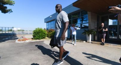 NBA great Shaquille O'Neal arrives in Croatia