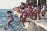 3000 people to take part in Zadar's traditional Millennium Jump this weekend