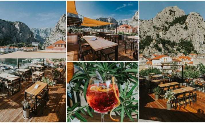 Eol Rooftop: A bar with possibly the best view in Croatia