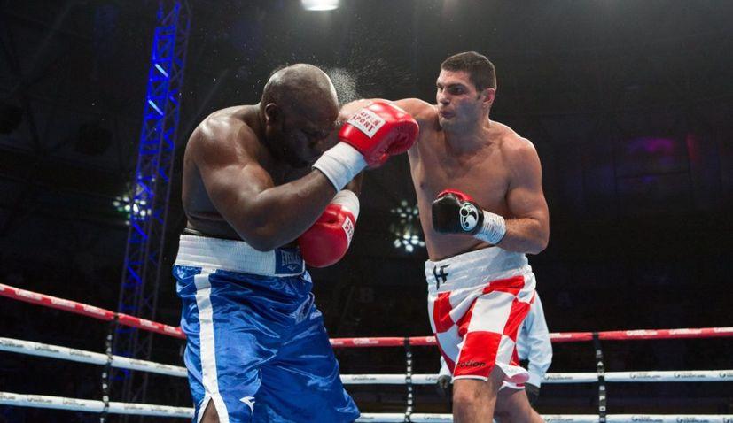 Croatian boxer filip hrgovic