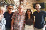 PHOTO: Owen Wilson & Salma Hayek lunch at popular konoba in Split