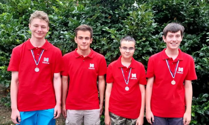 Croatia wins gold & two silver medals at Informatics Olympiad