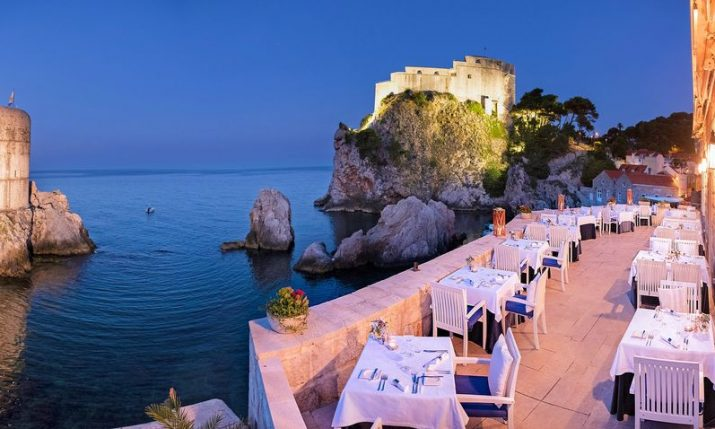 Nautika in Dubrovnik on CNN's world's best waterfront restaurants list