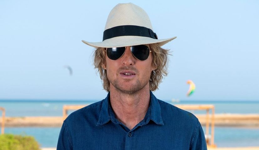 Actor Owen Wilson arrives in Split
