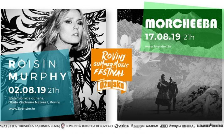 Roisin Murphy & Morcheeba to play Rovinj Summer Music Festival