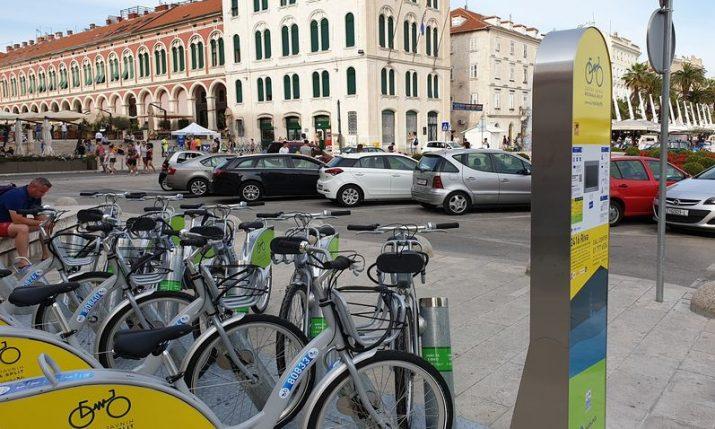 Split introduces public park & ride bike hire network