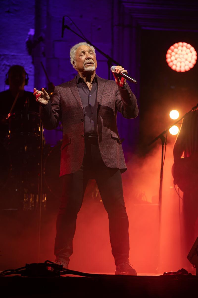 PHOTOS: Tom Jones performs in front of the Dubrovnik