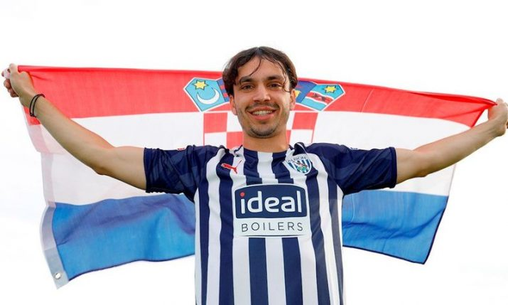 Slaven Bilic's first Croatian signing for new club West Bromwich Albion confirmed