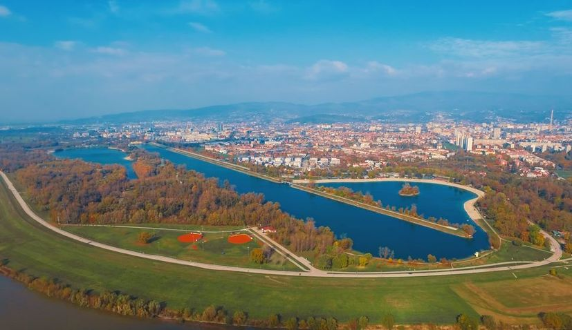 Places to cool down in summer in Zagreb with a swim
