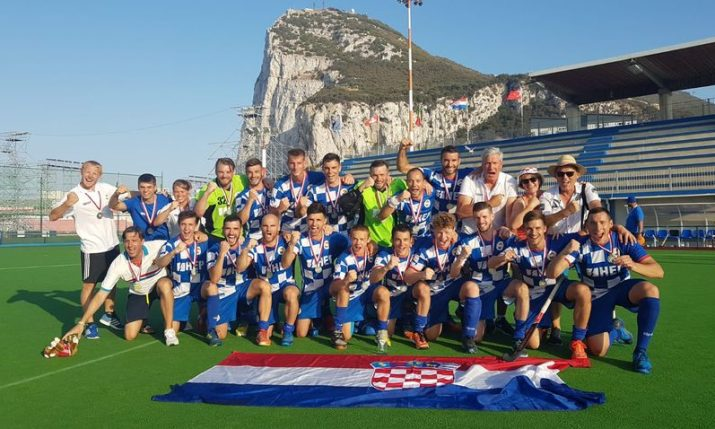Croatian hockey team wins Gold in Gibraltar at European Champs