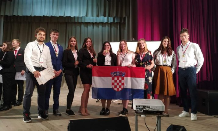 Croatia wins gold medal at the International Young Naturalists' Tournament