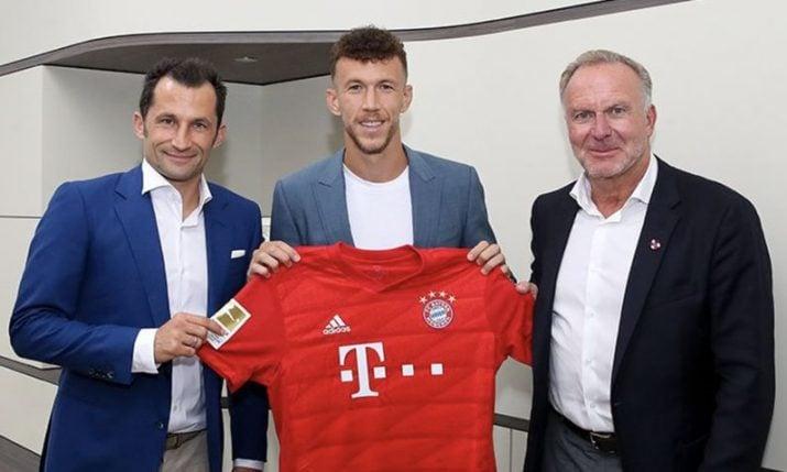 Ivan Perisic joins Bayern Munich