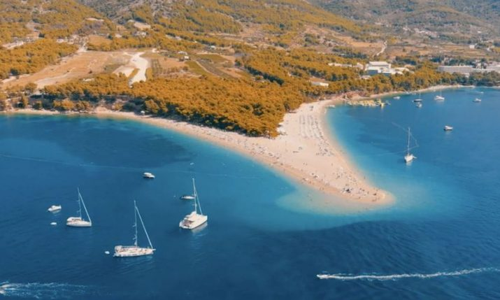 WATCH: Stunning video shows off Dalmatia's largest island Brac from the air