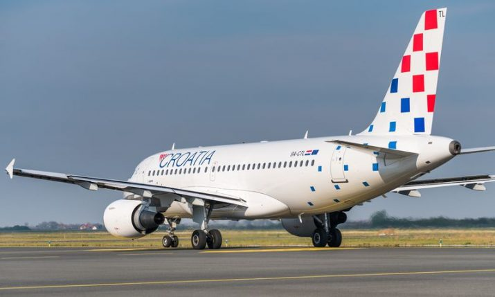 Croatia Airlines to operate 11 international routes from Zagreb in December